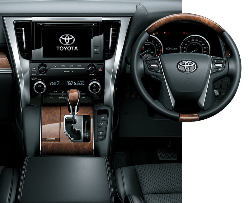 Toyota New Alphard Interior