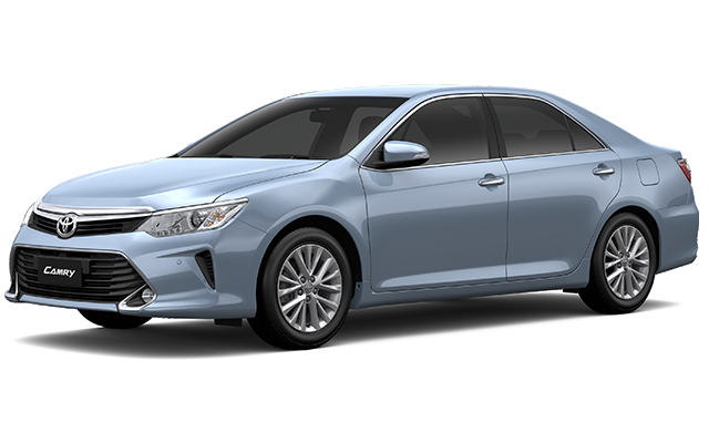 Toyota All New Camry Hybrid True Blue Mica Metallic