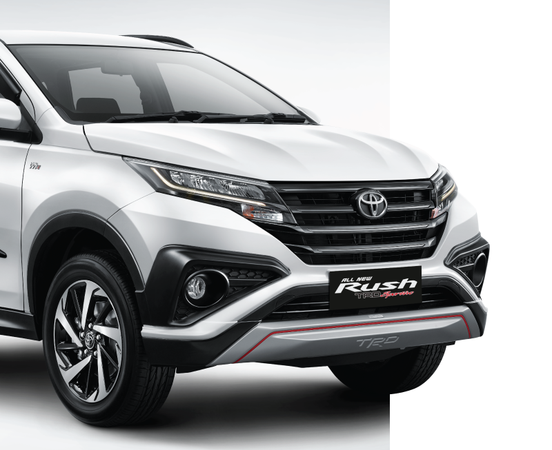Toyota All New Rush Exterior