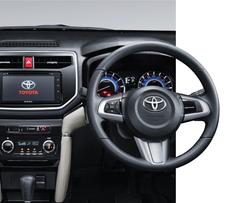 Toyota All New Rush Interior