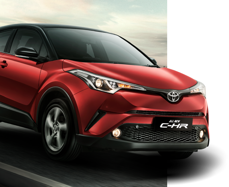 Toyota All New C-HR Exterior